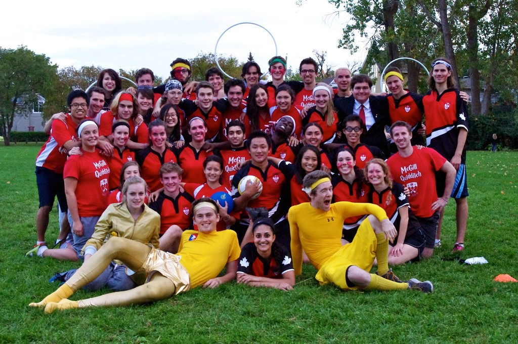 McGill Quidditch Team Photo